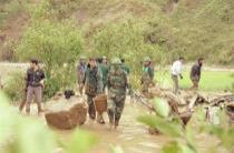 Lực lượng nòng cốtphòng, chống thiên tai, tìm kiếm cứu nạn