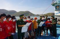 BĐBP Bình Định quyết liệt phòng chống dịch Covid-19 tại cửa khẩu, cảng biển