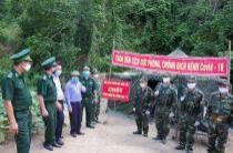 Chốt phòng, chống dịch Covid-19 trên biên giới miền Tây Nghệ An