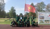 Những giải thưởng khích lệ Đội tuyểnchó nghiệp vụ QĐND Việt Nam