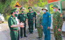 Trung tướng Đỗ Danh Vượng thăm, kiểm tra công tác phòng, chống dịch Covid-19 tại BĐBP Lai Châu